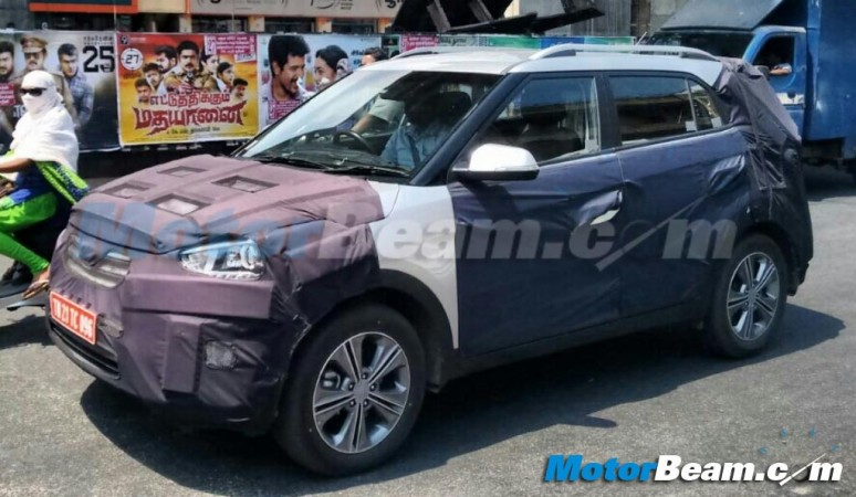 Hyundai ix25 Compact SUV Returns in Fresh Spy Shots, New Details Emerge; What We Know So Far