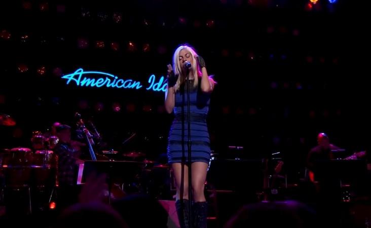 Jax performs on American Idol XIV 2015