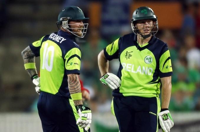 John Mooney Kevin O'Brien Ireland ICC Cricket World Cup 2015