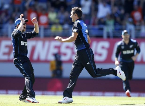 Kane Williamson Trent Boult New Zealand ICC Cricket World Cup 2015