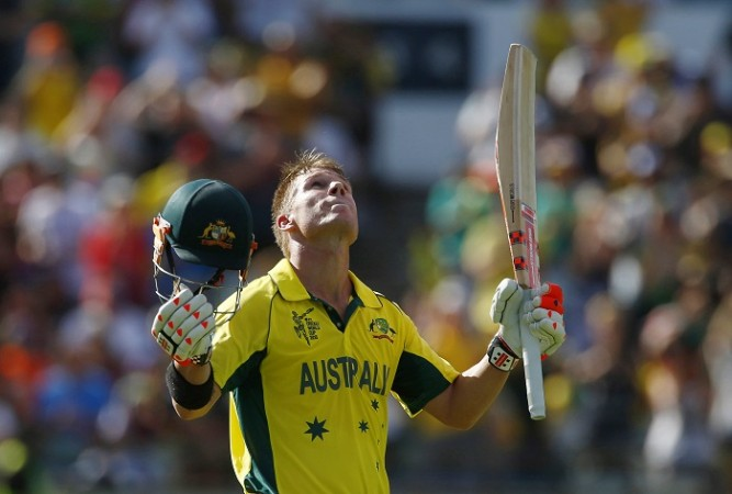 David Warner Australia ICC Cricket World Cup 2015