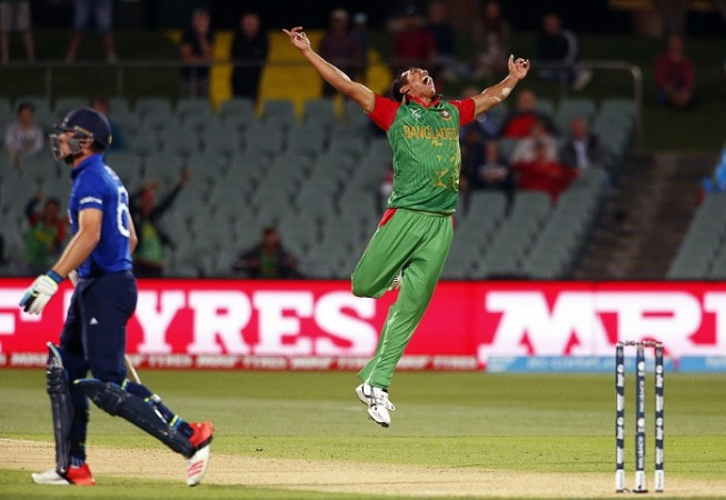 Jos Buttler England Taskin Ahmed Bangladesh ICC Cricket World Cup 2015