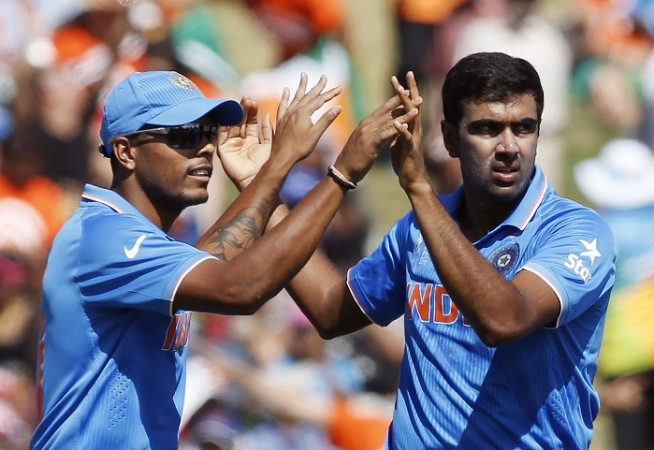 India R Ashwin Umesh Yadav ICC Cricket World Cup 2015