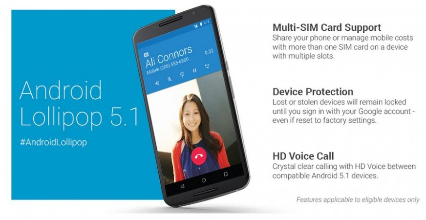 Google Android 5.1.0 Lollipop Factory Images Released to Nexus 5, 7, 10; OTA Roll-out to Begin Soon