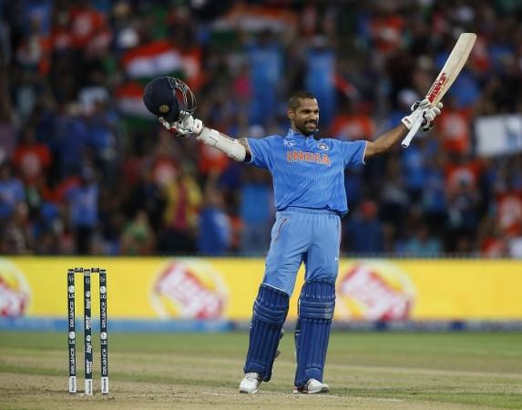 Shikhar Dhawan India ICC Cricket World Cup 2015