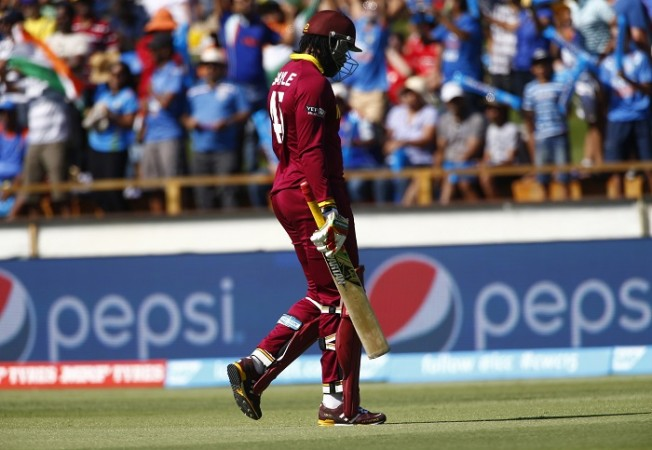 Chris Gayle West Indies ICC Cricket World Cup 2015