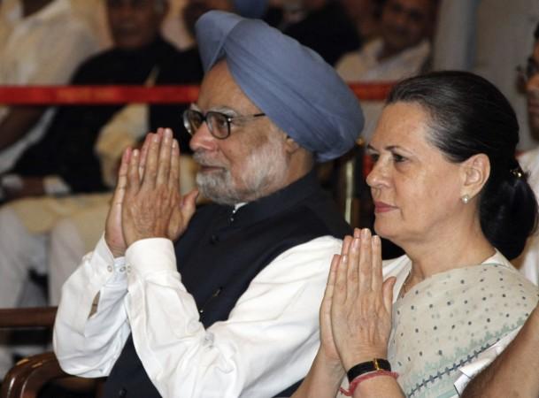 Sonia Gandhi Manmohan Singh