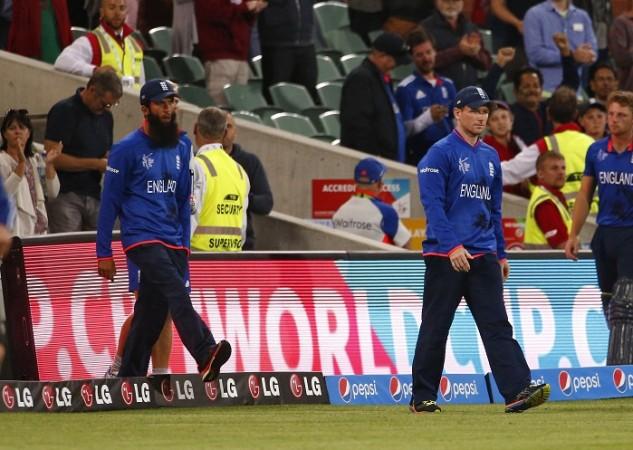 England Moeen Ali Eoin Morgan ICC Cricket World Cup 2015