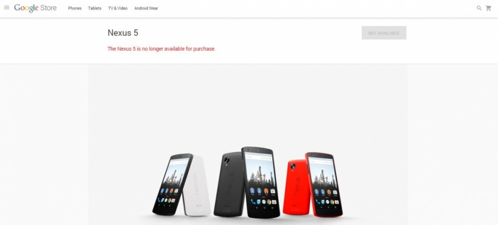 Curtains Fall on Nexus 5 Online Sale; Officially Discontinued on Google Store, Android Land