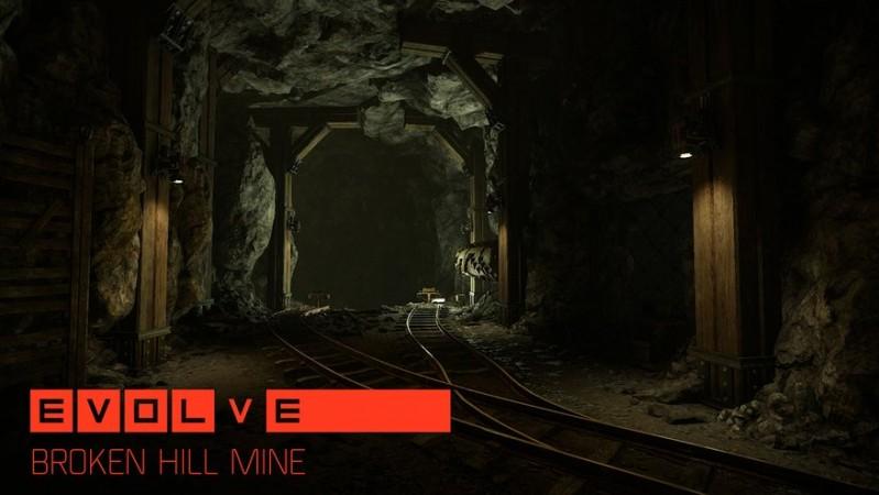 Evolve's 'Broken Hill Mine' Map
