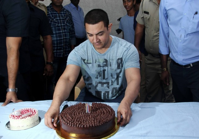 Aamir Khan celebrates his 50th birthday