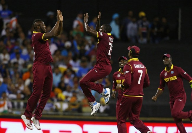 Andre Russell Jerome Taylor West Indies ICC Cricket World Cup 2015