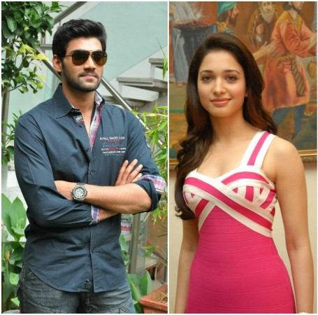 Tamannaah and Bellamkonda Srinivas
