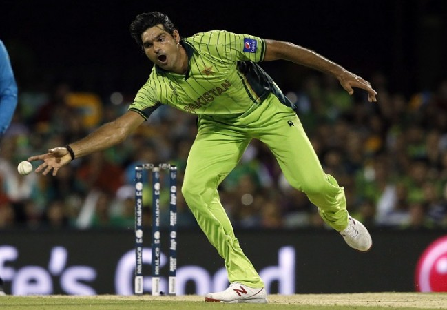 Mohammad Irfan Pakistan ICC Cricket World Cup 2015