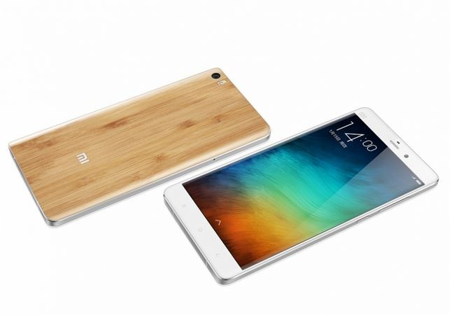 Xiaomi Launches Limited Edition Mi Note with Bamboo Back-Panel