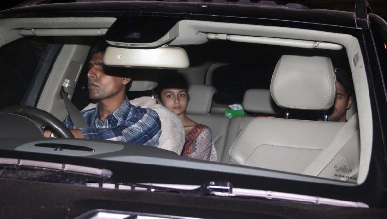 Bollywood Lovebirds Alia Bhatt and Sidharth Malhotra Go Out For A Movie Date