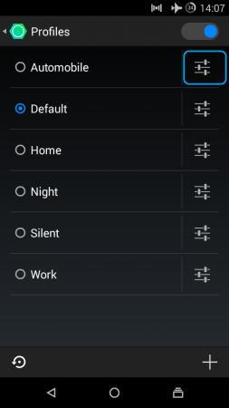 Customizing User Profiles
