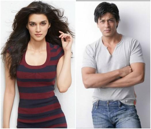 Shah Rukh Khan and Kriti Sanon