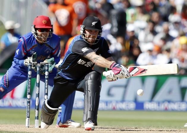 Brendon McCullum New Zealand Afsar Zazai Afghanistan ICC Cricket World Cup 2015