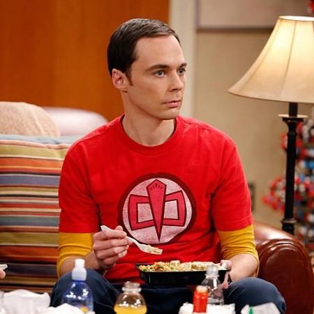 Jim Parsons as Sheldon Cooper in 'The Big Bang Theory'