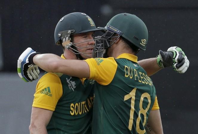 AB De Villiers Faf Du Plessis South Africa ICC Cricket World Cup 2015