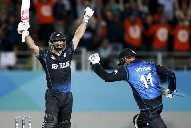Grant Elliott Daniel Vettori New Zealand ICC Cricket World Cup 2015