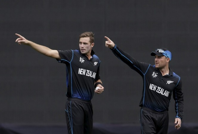 Tim Southee Brendon McCullum New Zealand ICC Cricket World Cup 2015