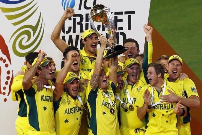 Australia ICC CRicket World Cup 2015 Trophy