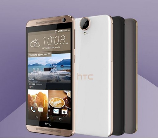 HTC Officially Unveils One E9  with 64-bit Class Octa-Core SoC in China