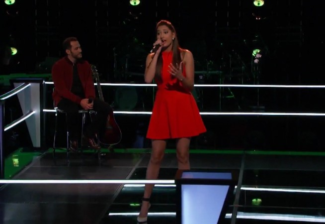 "Lexi Davila performing ""Anything Could Happen"" on The Voice US Season 8"