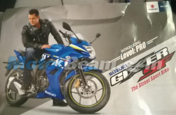 Suzuki Gixxer SF Official Brochures Leak Online Ahead of Launch