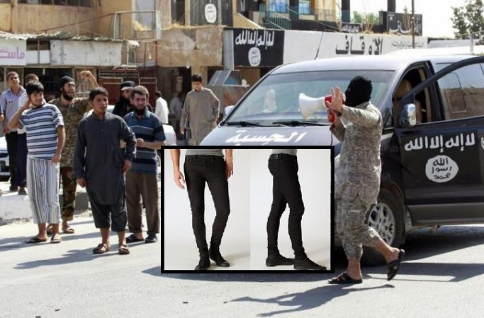Isis Bans Skinny Jeans in Raqqa.