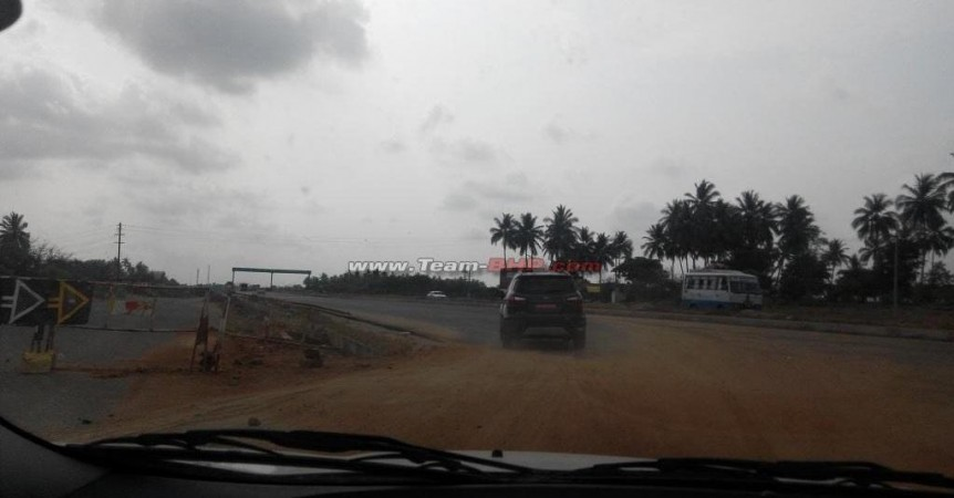 2015 Ford Ecosport Facelift Begins Testing in India