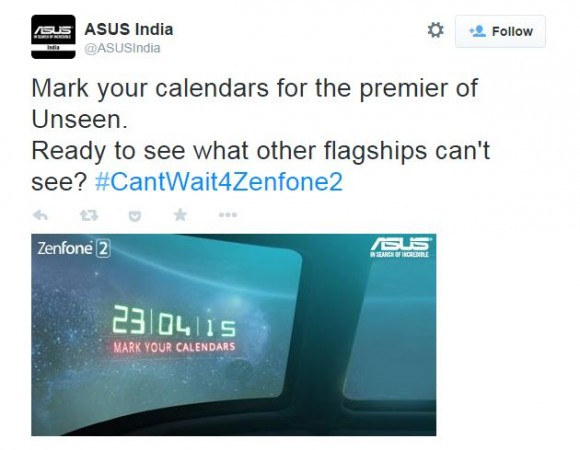 Asus Zenfone 2 India Release Date Officially Revealed; Three Variants to Hit Stores This Month