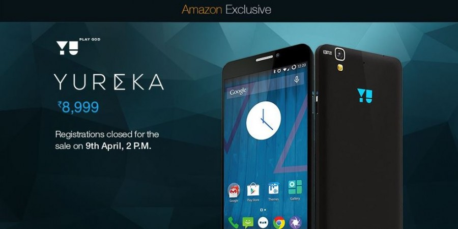 Micromax YU Yureka Flash Sale 13.0 on Amazon India to go Live on 9 April