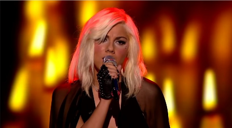 "Jax performing ""Beautiful Disaster"" on ""American Idol XIV"" 2015"