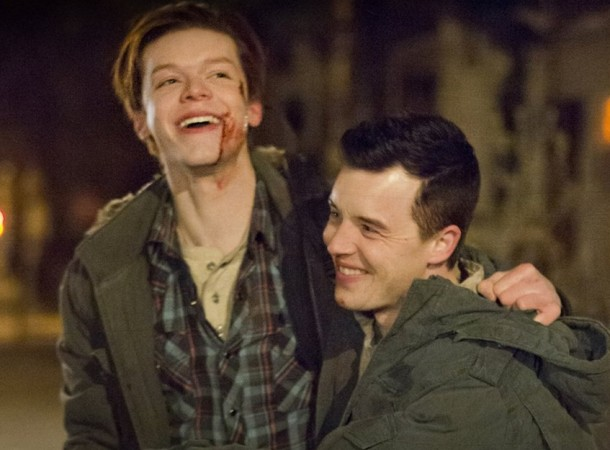 Ian and Mickey in Shameless