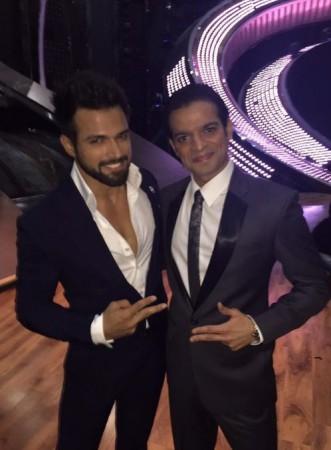Rithvik Dhanjani and Karan Patel