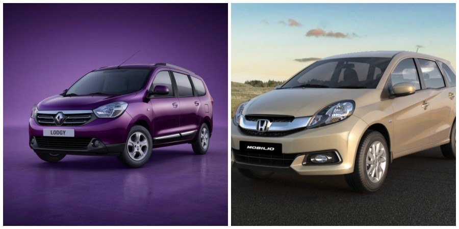 Renault Lodgy Vs Honda Mobilio: How Do They Stack Up? Specifications Comparison