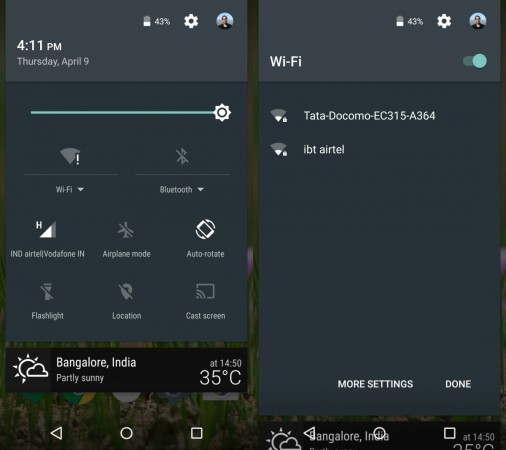 Android 5.1 Quick Connect feature