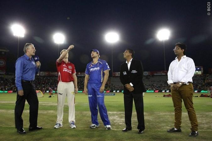 George Bailey Kings XI Punjab Shane Watson Rajasthan Royals