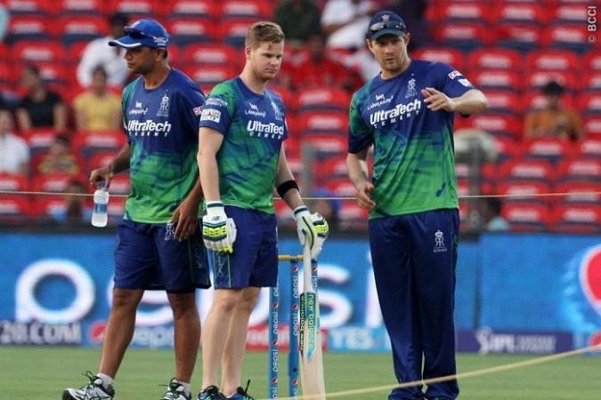 Rahul Dravid Steven Smith Shane Watson Rajasthan Royals