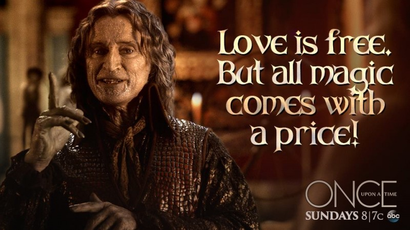 Robert Carlyle as Rumplestiltskin in 'Once Upon a Time'