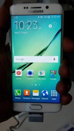 Samsung Galaxy S6 Edge Front look