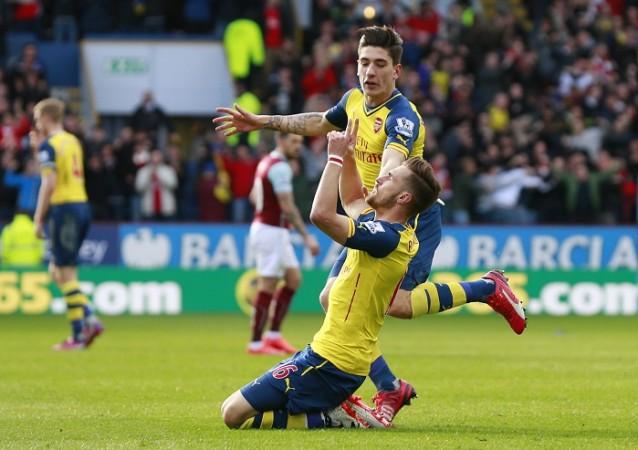 Aaron Ramsey Hector Bellerin Arsenal