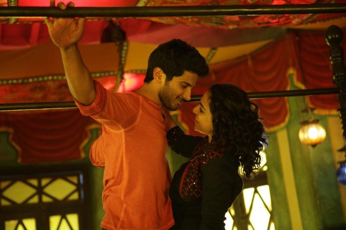 Dulquer and Nithya Menen in Ok Kanmani