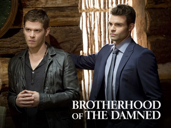 Klaus and Elijah in 'The Originals'