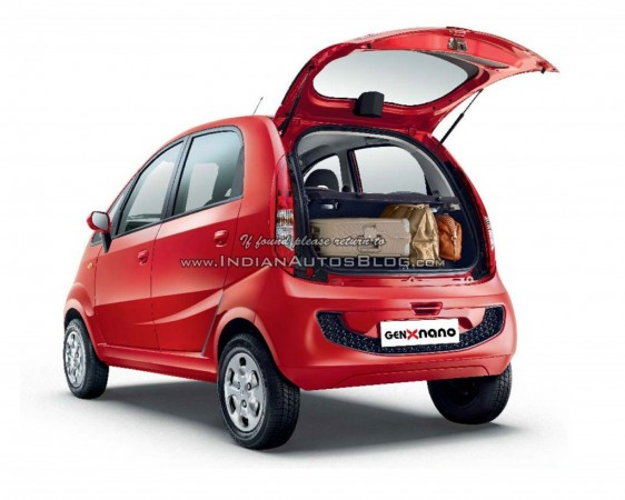Leaked: Tata Nano Genx AMT Design and Style