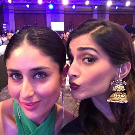 Kareena Kapoor Khan and Sonam Kapoor