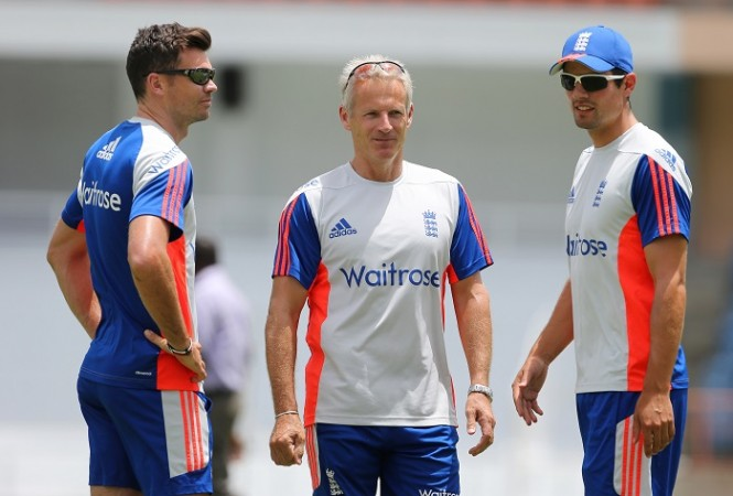 James Anderson Peter Moores Alastair Cook England